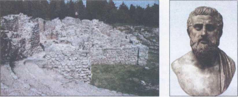 Руїни античного амфітеатру. Херсонес. Софокл