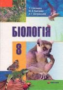 Готові домашні завдання до підручника Біологія 8 клас Базанова, Павіченко, Шатровський