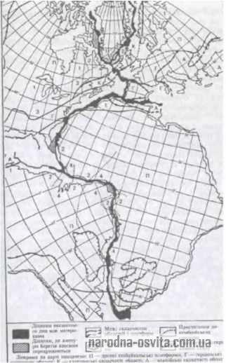 Зіставлення берегів Африки, Європи і Америки