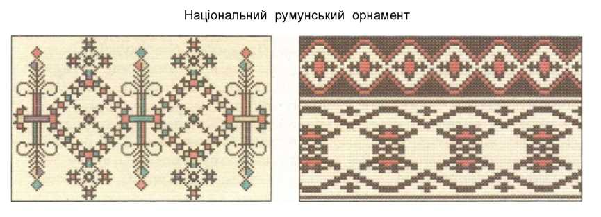 Національний румунський орнамент