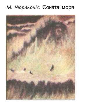 М.Чюрльоніс.Соната моря